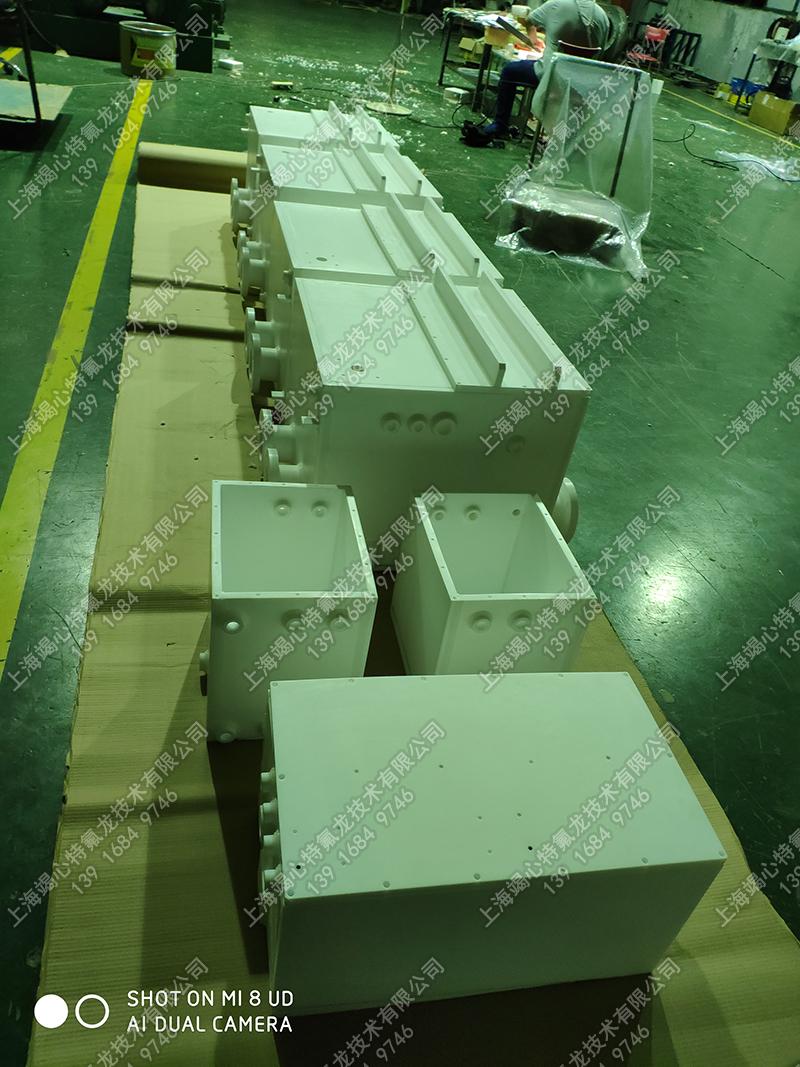 半导体产品四氟槽焊接-四氟槽打包 四氟槽定制品 四氟槽大尺寸